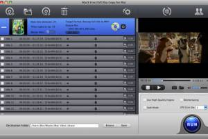 MacX Free DVD Rip Copy for Mac screenshot