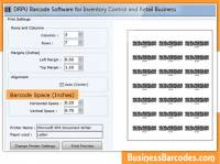 Inventory Business Barcodes screenshot