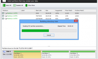 7-Data Partition Recovery screenshot