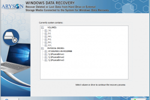 Hard Drive Recovery Software screenshot