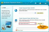 Windows Password Reset Pro screenshot