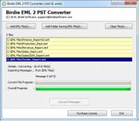 Windows Mail to PST Converter screenshot
