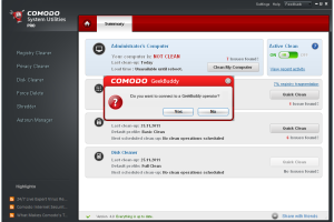 Comodo System Cleaner (64 bit) screenshot