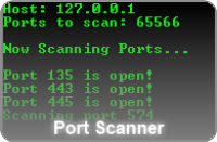 Dan's Port Scanner screenshot