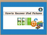 How to Recover iPod Pictures screenshot