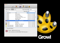 Growl screenshot