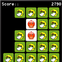 Pairs memory game screenshot