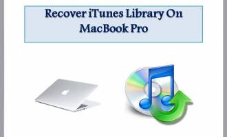Recover iTunes Library on MacBook Pro screenshot