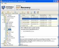 OST to PST Free Converter screenshot
