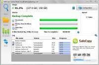 SafeCopy Backup - 3GB Free Account screenshot