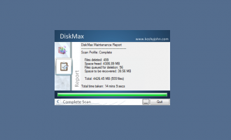 DiskMax screenshot