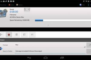 RecordPad Sound Recording Free Android screenshot
