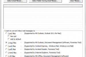 EML Emails to PST File Converter screenshot