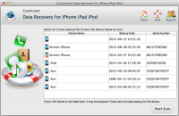 Coolmuster Data Recovery for iPhone iPad iPod (Mac Version) screenshot