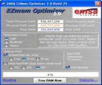 EZMem Optimizer screenshot