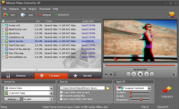 Movavi Video Converter 3D screenshot