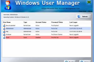Windows User Manager screenshot