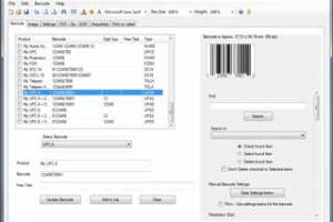Retail Barcode Maker Pro. screenshot