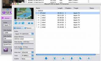 iMacsoft DVD to Apple TV Suite for Mac screenshot