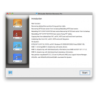 BYclouder Partition Recovery Pro for Mac screenshot