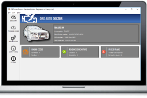 OBD Auto Doctor for Linux screenshot