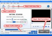 Eztoo DVD To 3GP Converter screenshot