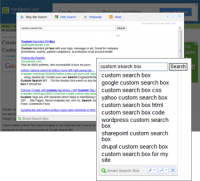 Smart Search Box for Mozilla Firefox screenshot