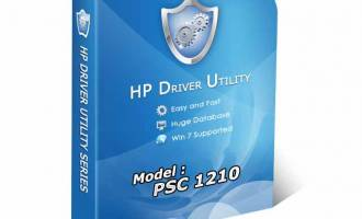 HP PSC 1210 Driver Utility screenshot