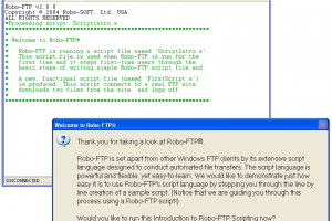 Robo-FTP Server screenshot