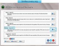 Android File Recovery Software screenshot
