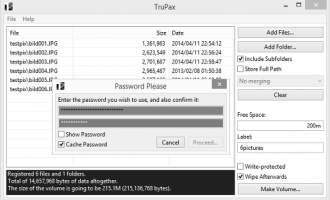 TruPax Portable screenshot