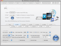 Mac DVD Ripper X screenshot