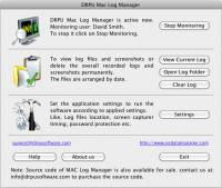 Keylogger on Mac screenshot