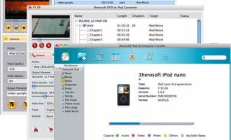 3herosoft iPod Mate for Mac screenshot