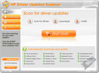 HP Driver Updates Scanner screenshot