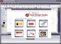 Flash Design Studio Flash Software screenshot