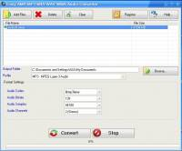Easy AMR MP3 M4A WAV WMA Audio Converter screenshot