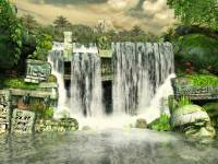 Mayan Waterfall 3D Screensaver screenshot