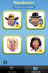 PhotoSmileys screenshot