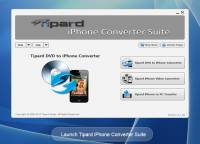 Tipard iPhone Converter Suite screenshot