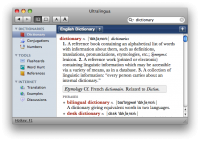 French-English Collins Pro Dictionary for Mac screenshot