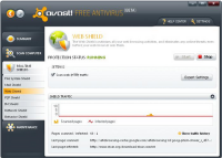 avast! 5 Pro Antivirus screenshot