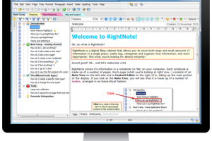 Portable RightNote screenshot
