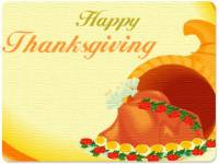 Animated Thanksgiving Wishes Wallpaper screenshot