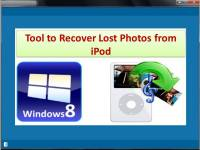 Tool to Recover Lost Photos from iPod screenshot