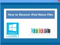 How to Recover iPod Nano Files screenshot