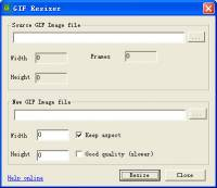 GiF Resizer screenshot