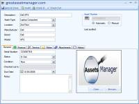 Asset Manager screenshot