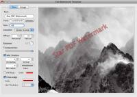 Star PDF Watermark Ultimate for Mac screenshot