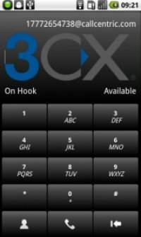 3CXPhone for Android screenshot